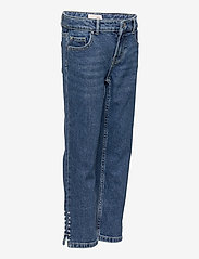 Kids Only - KONEMILY LIFE HW STR CAP DNM JNS MAE005 - jeans - medium blue denim - 3