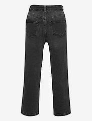 Kids Only - KONMADISON LIFE HW WIDE BLACK JEANS DNM - jeans - black - 1