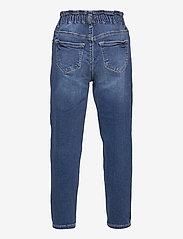 Kids Only - KONMAYA PAPERBAG DNM JEANS AZG - jeans - medium blue denim - 1
