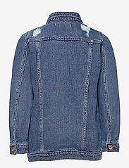 Kids Only - KONEMILIA LONG DENIM JACKET AZG - jeansjacken - medium blue denim - 1