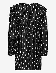 Kids Only - KONELEMA L/S FRILL DRESS JRS - kleider - black - 1