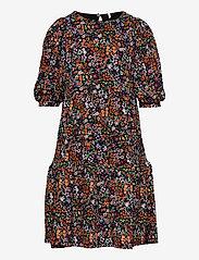 KONPELLA 3/4 PELUM DRESS JRS - BLACK