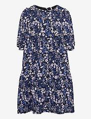 Kids Only - KONPELLA 3/4 PELUM DRESS JRS - kleider - victoria blue - 0