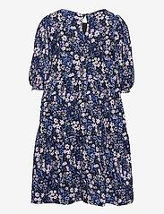 Kids Only - KONPELLA 3/4 PELUM DRESS JRS - kleider - victoria blue - 1
