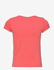 Kids Only - KONKITA LIFE REG S/S TOP CAMERA/LOVE JRS - t-shirts - sugar coral - 1
