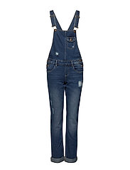konLISE DNM OVERALL - MEDIUM BLUE DENIM