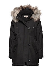 KONIRIS FUR PARKA CP OTW - BLACK