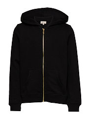 KONBEAT L/S HOOD NOOS - BLACK