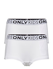 KONLOVE LIFE HIPSTER 2-PACK NOOS - BRIGHT WHITE