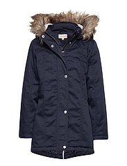 KONNEW KATE CANVAS PARKA OTW - NIGHT SKY