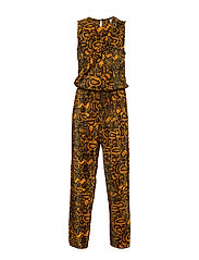 KONAYSHA S/L JUMPSUIT JRS - GOLDEN YELLOW