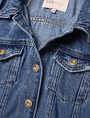 Kids Only - KONEMILIA LONG DENIM JACKET AZG - jeansjacken - medium blue denim - 2