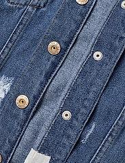 Kids Only - KONEMILIA LONG DENIM JACKET AZG - jeansjacken - medium blue denim - 3