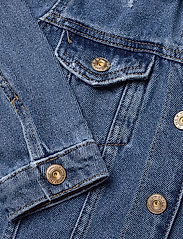Kids Only - KONEMILIA LONG DENIM JACKET AZG - jeansjacken - medium blue denim - 4