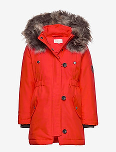 KONIRIS FUR PARKA CP OTW - FIERY RED