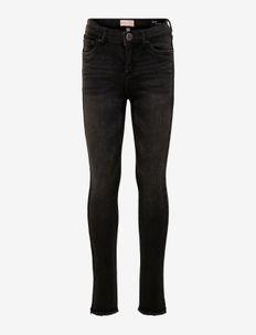 KONBLUSH SKINNY RAW JEANS 1099 NOOS - jeans - black denim