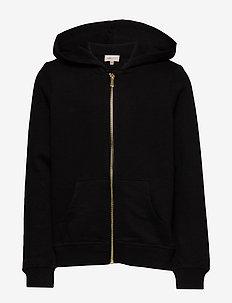 KONBEAT LIFE L/S HOOD - hoodies - black