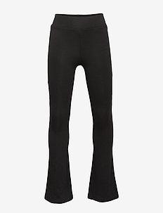 KONPAIGE FLARED PANT PNT NOOS - leggings - black