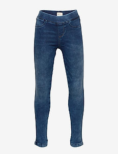 KONJOGGER JEGGINGS DNM - MEDIUM BLUE DENIM