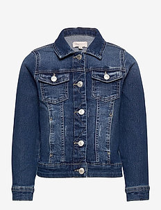 KONSARA MED BLUE DNM JACKET NOOS - jeansjacken - medium blue denim