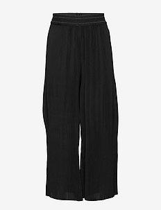 KONLARIA-MARIN HW PLISSE PANTS PNT - hosen - black