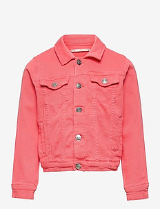 KONWONDER LIFE COLORED DNM JACKET - jeansjacken - sugar coral