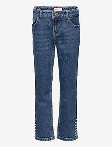 KONEMILY LIFE HW STR CAP DNM JNS MAE005 - jeans - medium blue denim