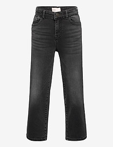 KONMADISON LIFE HW WIDE BLACK JEANS DNM - jeans - black