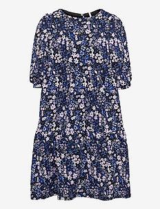 KONPELLA 3/4 PELUM DRESS JRS - kleider - victoria blue