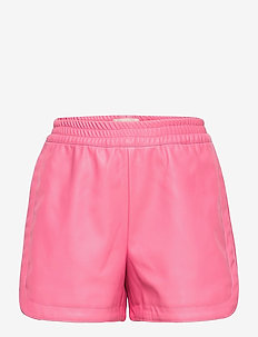 KONBELLA SPORTY PU SHORTS PNT - shorts - aurora pink