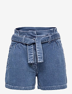 KONFIE LIFE BELT DNM SHORTS QYT - shorts - medium blue denim