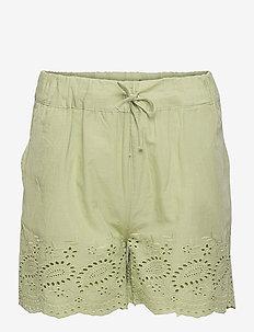KONKAREN SHORTS WVN - shorts - sage