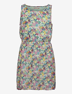 KONLULU S/L DRESS WVN - kleider - brook green