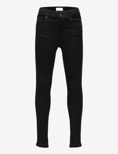 KONROYAL LIFE REG SKINNY JEANS 600 - jeans - black