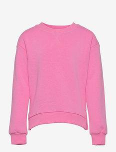 KONEVERY LIFE L/S O-NECK SWEATSHIRT PNT - sweatshirts - fuchsia pink