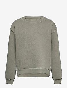 KONEVERY LIFE L/S O-NECK SWEATSHIRT PNT - sweatshirts - shadow