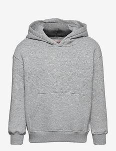 KONEVERY LIFE SMALL LOGO HOODIE PNT - kapuzenpullover - light grey melange