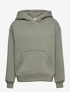 KONEVERY LIFE SMALL LOGO HOODIE PNT - hoodies - shadow