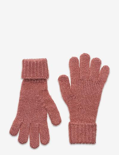 KONSOFIA KNIT GLOVES - handschuhe - ash rose