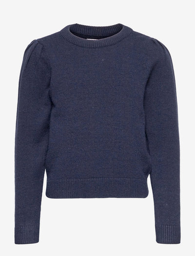 KONLESLY L/S PUFF PULLOVER CP KNT - pullover - night sky