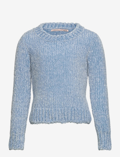 KONSHILLA L/S PULLOVER CP KNT - pullover - cashmere blue