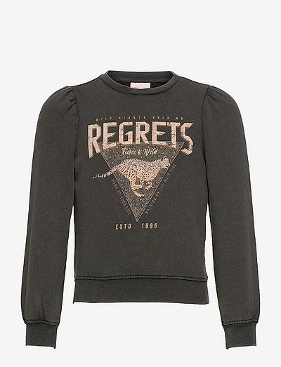 KONLUCINDA LIFE L/S SWT - sweatshirts - black