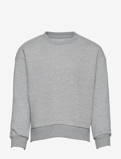 KONEVERY LIFE L/S O-NECK SWEATSHIRT PNT - sweatshirts - light grey melange