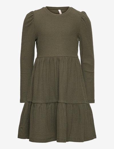 KONNELLA L/S PUFF DRESS JRS - kleider - kalamata
