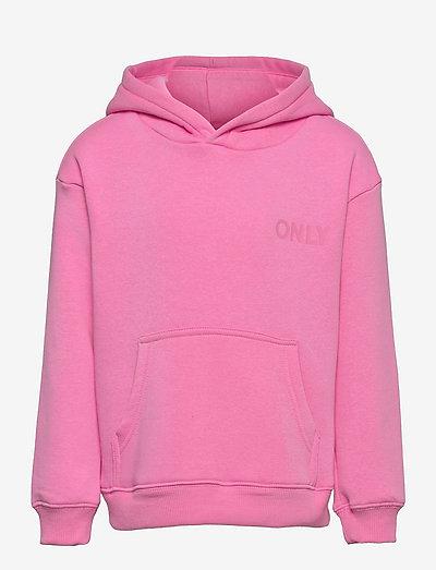 KONEVERY LIFE SMALL LOGO HOODIE PNT - kapuzenpullover - fuchsia pink