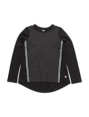ANE SWEAT PULLOVERS - BLACK