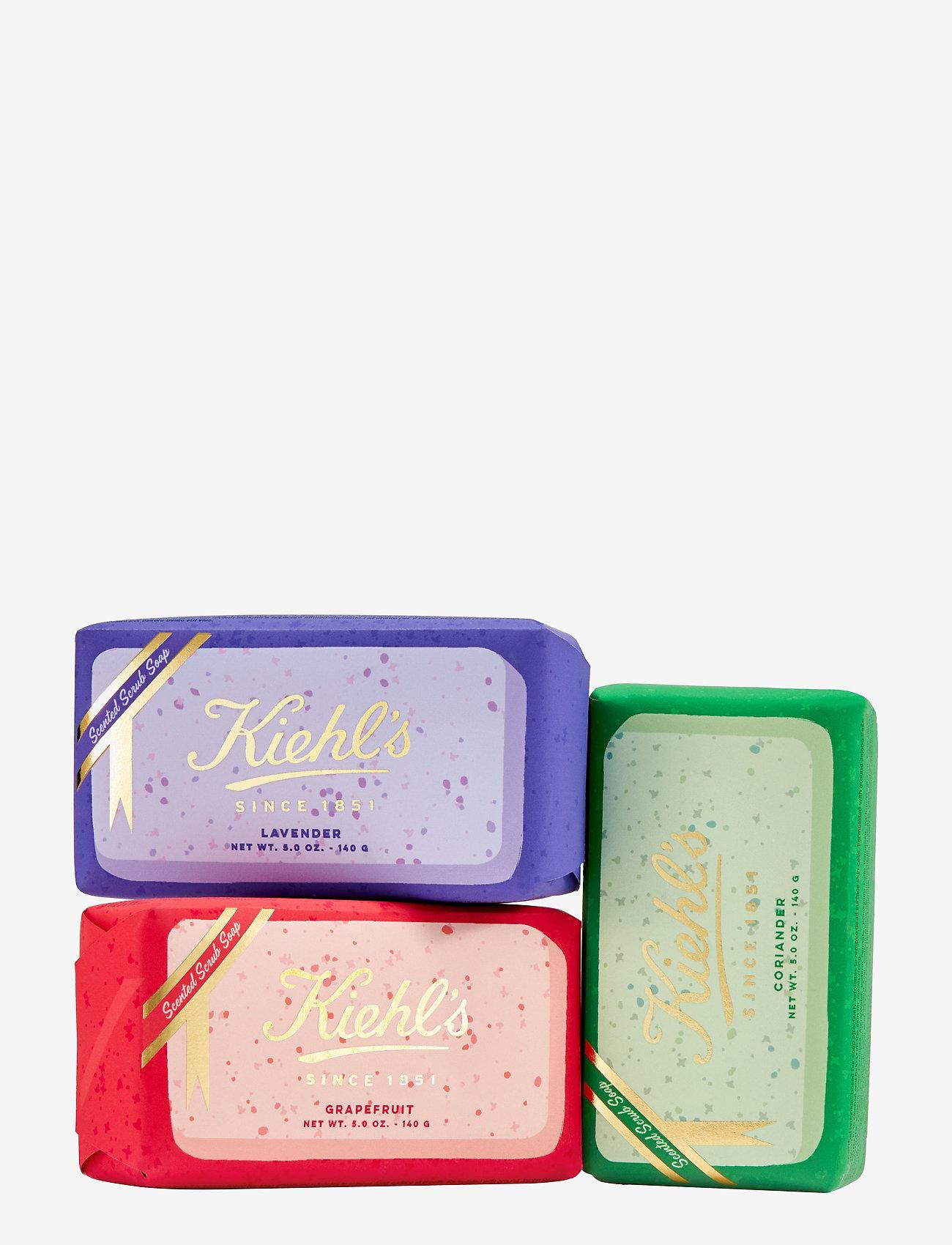 Kiehl's - Gently Exfoliating Body Scrub Soap - suihku & kylpy - clear