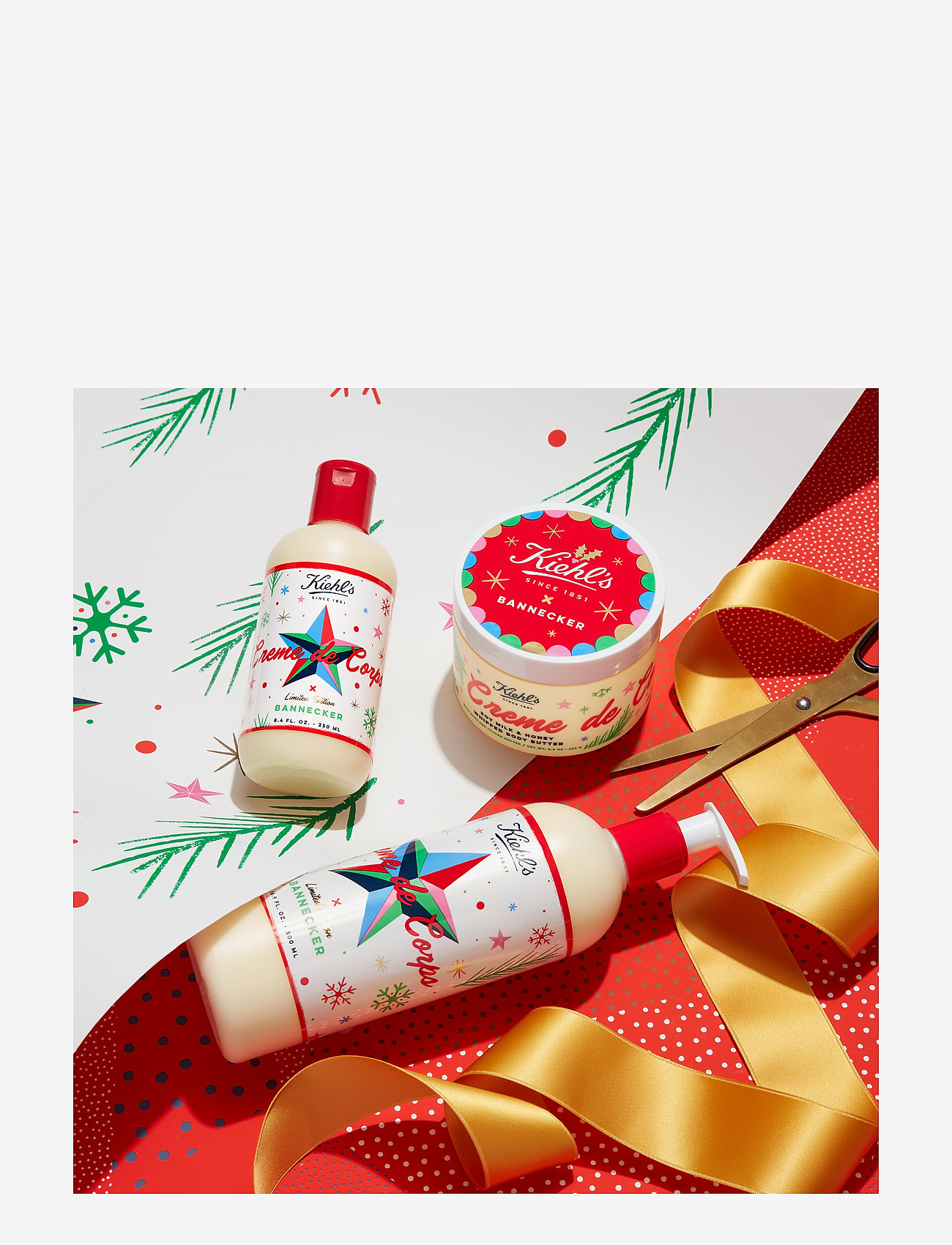 Kiehl's - Limited Edition Creme de Corps - body cream - clear