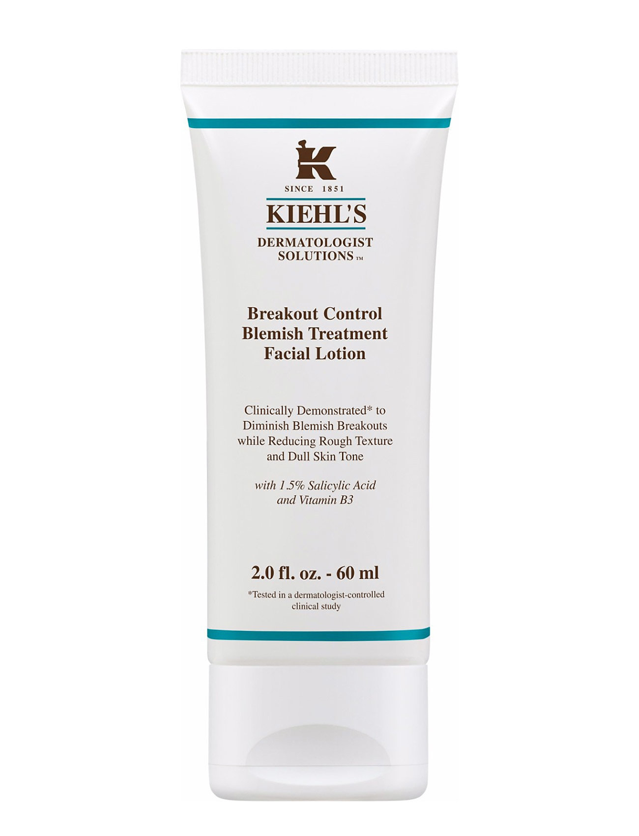 Image of Breakout Control Blemish Treatment Facial Lotion Hudpleje Serum Nude Kiehl's (3137820153)