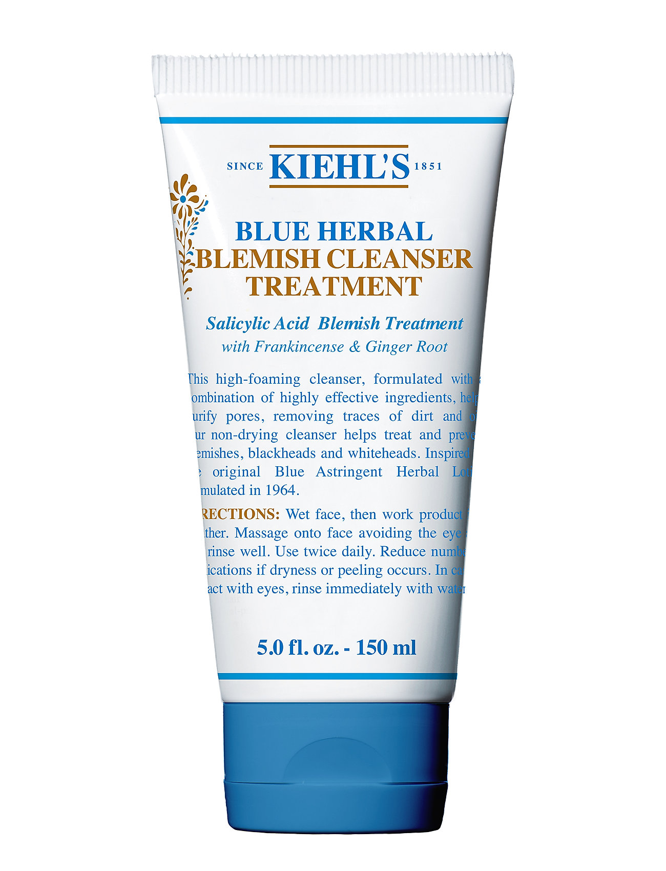 Image of Blue Herbal Blemish Cleanser Treatment Ansigtsvask Nude Kiehl's (3248217359)
